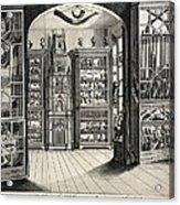 1788 Richard Greene's Museum At Lichfield Acrylic Print