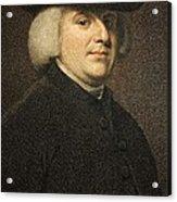 1789 William Paley Portrait Naturalist Acrylic Print by Paul D Stewart