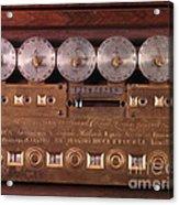 17th Century Calculating Machine Acrylic Print