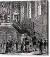 1830 Montagu House Natural History Museum Acrylic Print