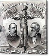 1888 Democratic Presidential Campaign Acrylic Print
