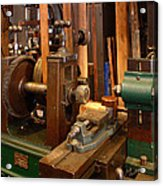 18th Century Machine Shop Acrylic Print by Judi Quelland