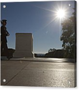 Honor Guard At The Tomb Acrylic Print