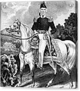 Zachary Taylor (1784-1850) Acrylic Print