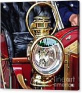 1907 Stanley Steamer - Lantern Acrylic Print by Kaye Menner