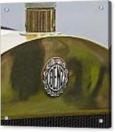 1908 Benz Grand Prix Hood Emblem Acrylic Print