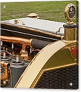 1912 Mercer Model 35 C Raceabout Engine And Motometer Acrylic Print