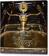 1915 Model-t Ford Hood Ornament Acrylic Print