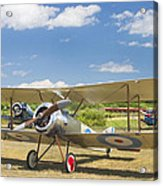 1916 Sopwith Pup Airplane On Airfield Poster Print Acrylic Print