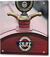 1916 Stutz Series B Bearcat Hood Ornament Acrylic Print