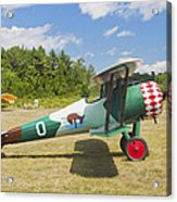 1917 Nieuport 28c.1 Antique Fighter Biplane Canvas Photo Poster Print Acrylic Print