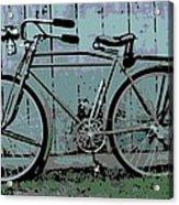1918 Harley Davidson Bicycle Acrylic Print