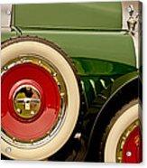 1919 Mcfarlan Type 125 Touring Acrylic Print