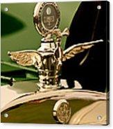 1919 Mcfarlan Type 125 Touring Motometer - Hood Ornament Acrylic Print