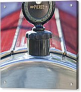 1919 Pierce-arrow Model 48 Dual Valve Roadster Hood Ornament Acrylic Print
