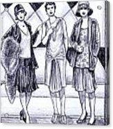 1920s Styles Acrylic Print