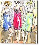 1920s Teddies Acrylic Print