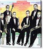1927 New Yorkers Jazz Band Acrylic Print