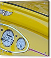 1929 Ford Model A Roadster Dashboard Instruments Acrylic Print