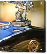 1929 Gardner Series 120 Eight-in-line Roadster Hood Ornament Acrylic Print