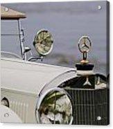 1929 Mercedes-benz S Tourer Hood Ornament Acrylic Print