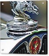 1931 American Austin Roadster Hood Ornament Acrylic Print