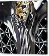 1931 Chrysler Cg Imperial Roadster Hood Emblem Acrylic Print