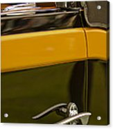 1931 Chrysler Cg Imperial Waterhouse Convertible Victoria Door Handle Acrylic Print
