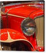 1931 Cord Automobile Acrylic Print