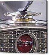 1931 Henney 2-passenger Convertible Hood Ornament Acrylic Print