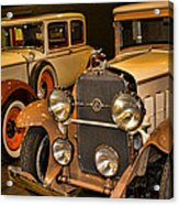1931 La Salle Series 345r And 1929 Packard Roadster Acrylic Print