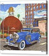 1931 Lincoln K Dietrich Phaeton Acrylic Print