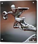 1931 Packard Deluxe Eight Roadster Hood Ornament Acrylic Print