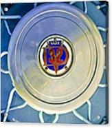 1931 Stutz Dv-32 Convertible Sedan Wheel Emblem Acrylic Print