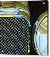 1932 Alvis-6 Speed 20 Sa Grille Emblem Acrylic Print