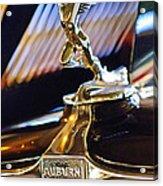 1932 Auburn V-12 Speedster Hood Ornament Acrylic Print