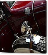 1932 Chevrolet Detail Acrylic Print