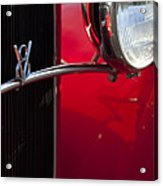 1932 Ford Roadster Grille Acrylic Print
