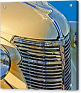 1933 Chevrolet Grille And Headlights Acrylic Print