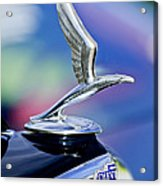1933 Chevrolet Master Six Eagle Sedan Hood Ornament Acrylic Print