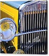 1933 Fiat Balilla Grille Acrylic Print