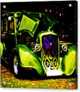 1933 Plymouth Hot Rod Acrylic Print by Phil 'motography' Clark