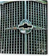 1934 Chevrolet Grill  Acrylic Print by Paul Ward