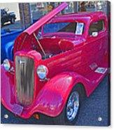 1934 Chevy Coupe Acrylic Print