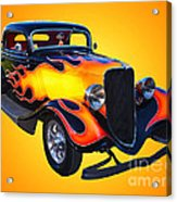 1934 Ford 3 Window Coupe Hotrod Acrylic Print