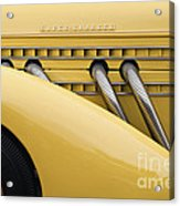 1935 Auburn 851 Sc Speedster Detail - D008160 Acrylic Print by Daniel Dempster