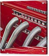 1935 Auburn Side Pipes Acrylic Print