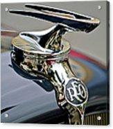 1935 Reo Speedwagon Pickup Hood Ornament Acrylic Print