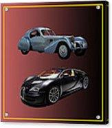 1936 Bugatti 2010 Bugatti Acrylic Print