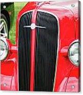 1936 Chevy  8552 Acrylic Print